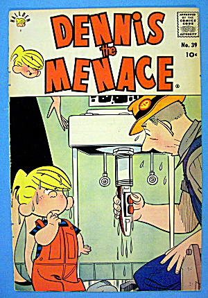 Dennis The Menace Comic Cover #39 November 1959