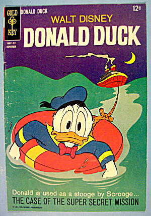 Donald Duck Comic Cover #711 November 1967