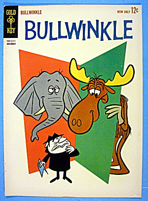 Bullwinkle Comic Cover #211 November 1962 Bullwinkle