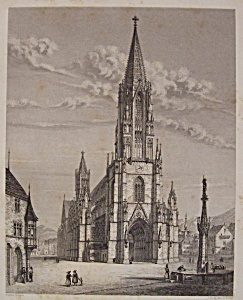 Cathedrale De Freyburg