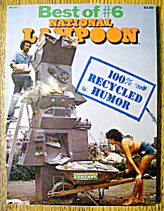 Best Of National Lampoon Magazine #6-1976