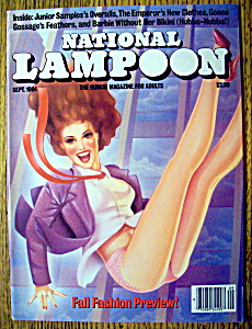 National Lampoon Magazine #74-september 1984