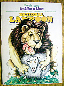 National Lampoon Magazine #72-march 1976
