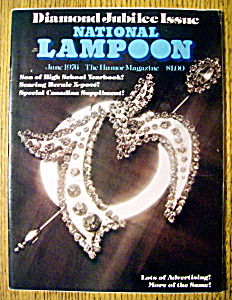 National Lampoon Magazine #75-june 1976
