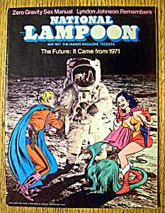 National Lampoon Magazine #14-may 1971