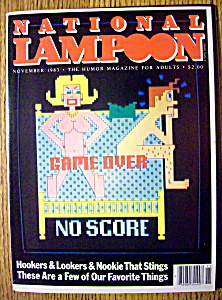 National Lampoon Magazine #64-november 1983