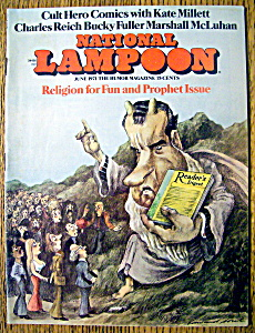 National Lampoon Magazine #15-june 1971