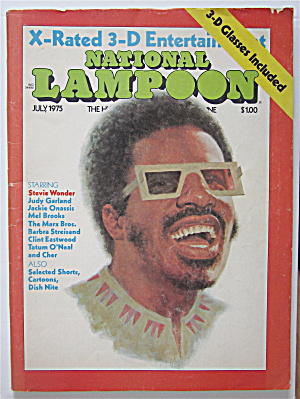 National Lampoon Magazine #64-july 1975