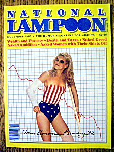 National Lampoon Magazine #52-november 1982