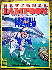 National Lampoon Magazine #70-may 1984