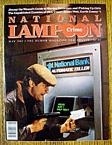 National Lampoon Magazine #46-may 1982