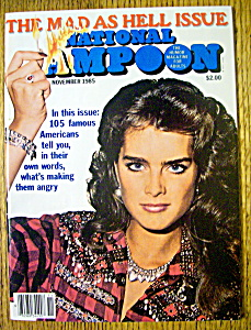 National Lampoon Magazine-november 1985