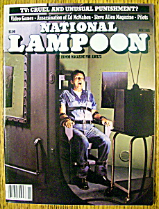 National Lampoon Magazine #40-november 1981