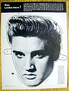 Dig Magazine (Cover Only)-1950's-elvis Presley