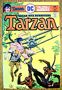 Tarzan (Lord Of The Jungle) Comic #245-January 1976 (Image1)