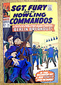Sgt Fury & His Howling Commandos #35-October 1966 (Image1)