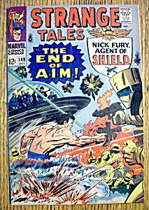 Strange Tales Comic #149-October 1966 (Image1)