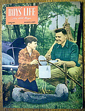 Boys' Life Magazine-june 1947-harold (Pete) Reiser