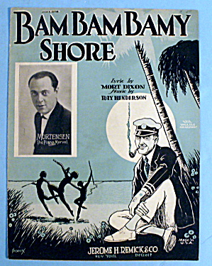 1925 Bam Bam Bamy Shore By Ray Henderson