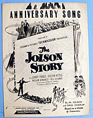 1946 Anniversary Song From The Al Jolson Story