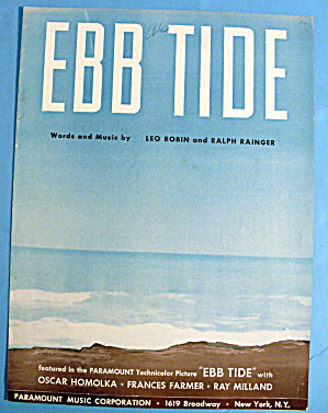 1937 Ebb Tide By Leo Robin