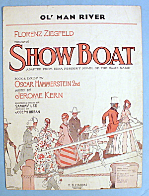 1927 Show Boat By Oscar Hammerstein 2nd