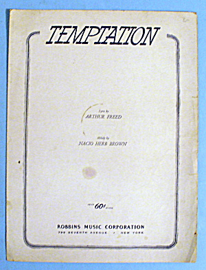 1948 Temptation By Arthur Freed