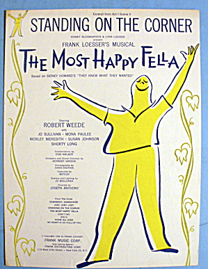 1956 The Most Happy Fella By Frank Loesser