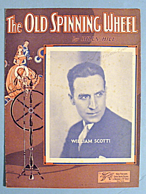 1933 The Old Spinning Wheel By Billy Hill