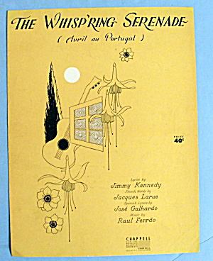 1952 The Whispring Serenade By Jimmy Kennedy
