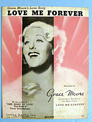 1935 Grace Moore's Love Song - Love Me Forever