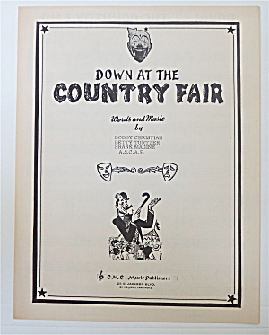 1950 Down At The Country Fair/christian & Turtzer