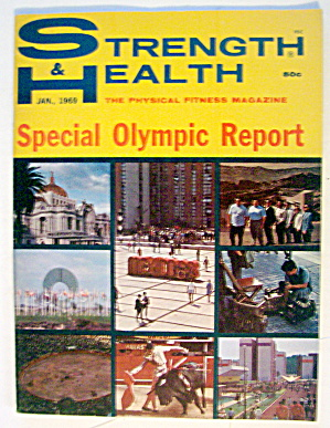 Strength & Health Magazine-january 1969-olympics