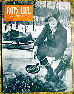Boys Life Magazine-january 1947-buck Rogers Age Is Here