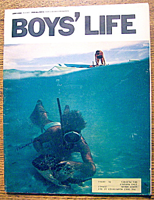 Boys Life Magazine-june 1966-the Mickey Mantle I Know