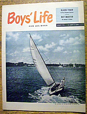 Boys Life Magazine-august 1966-biscayne Bay