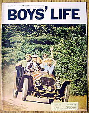 Boys Life Magazine-october 1966-joe Cronin:baseball