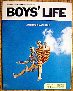 Boys Life Magazine-july 1966-john Philip Sousa