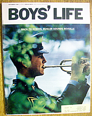 Boys Life Magazine-september 1966-boy Scout Rally
