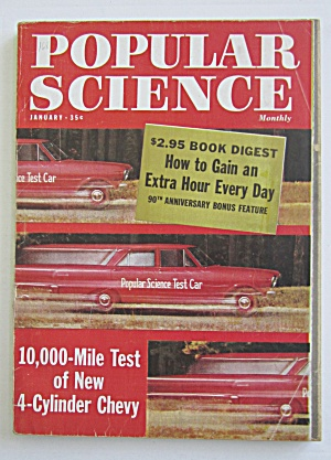 Popular Science Magazine-january 1962-10,000 Mile Test