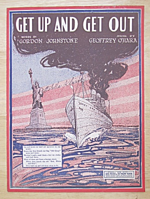 1920 Get Up And Get Out Sheet Music