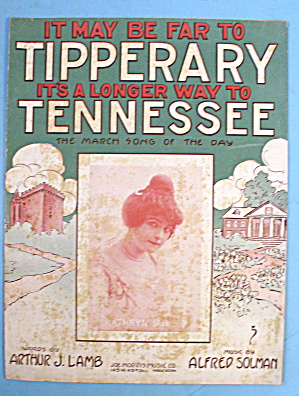 1914 Tipperary Tennessee By Arthur J. Lamb