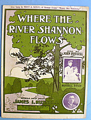 1906 Where The River Shannon Flows By James Russell