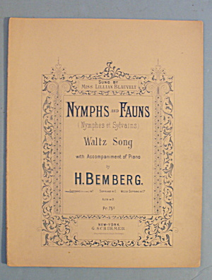 1893 Nymphs And Fauns By H. Bemberg