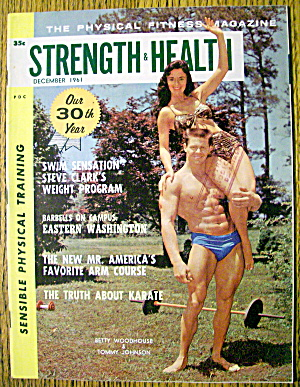 Strength & Health Magazine-december 1961-betty & Tommy