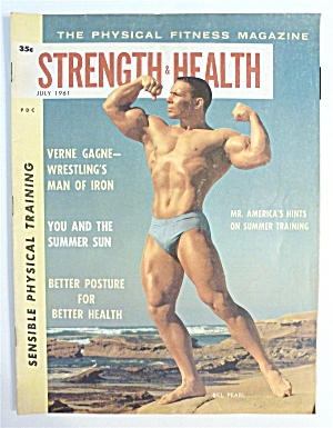 Strength & Health Magazine-july 1961-bill Pearl