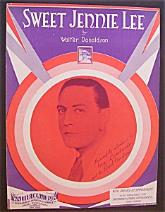 Sheet Music For 1930 Sweet Jennie Lee (Guy Lombardo) (Image1)