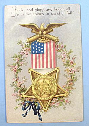 Grand Army Of The Republic Veteran Postcard (Tuck's) (Image1)
