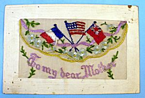 World War I Souvenir Postcard To My Dear Mother (Image1)