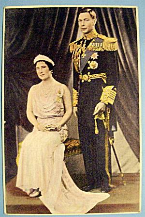 Gracious King George VI & Queen Elizabeth Postcard (Image1)